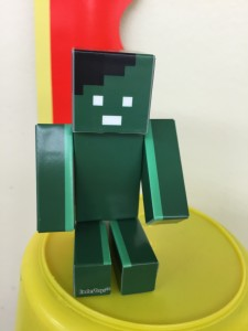 """Gumby on a Bucket"" by @GumbyBlockhead"