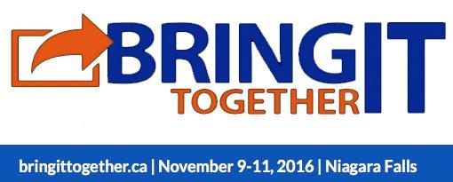 #BIT16 Bring IT, Together 2016