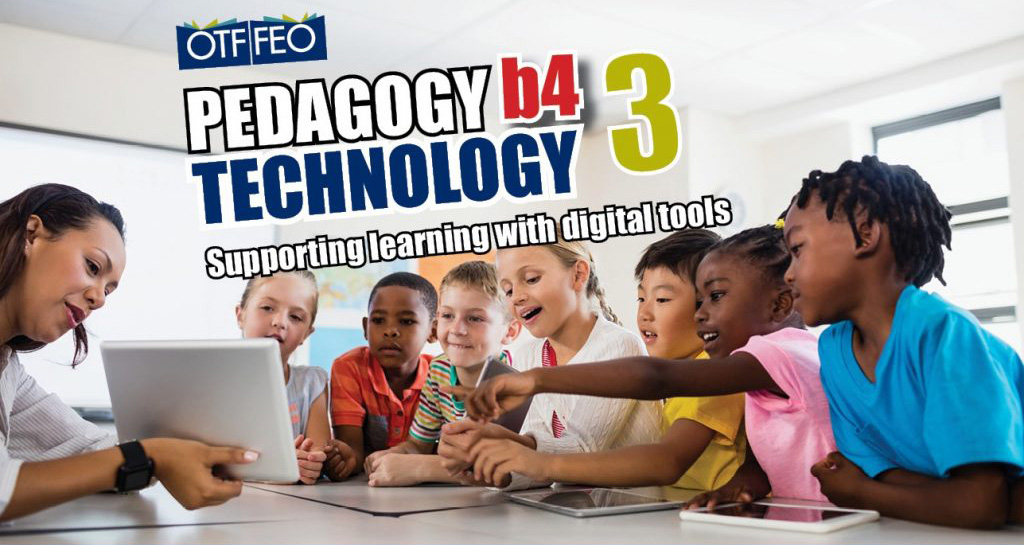 #PB4T3 Pedagogy B4 Technology 3